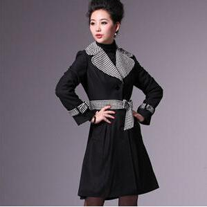The Hit Color Tie Belt Elegant Wool..