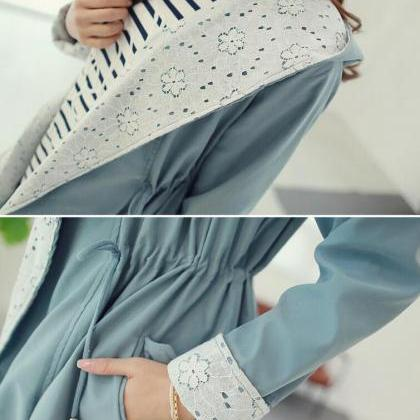 Fashionable joker color lace stitch..