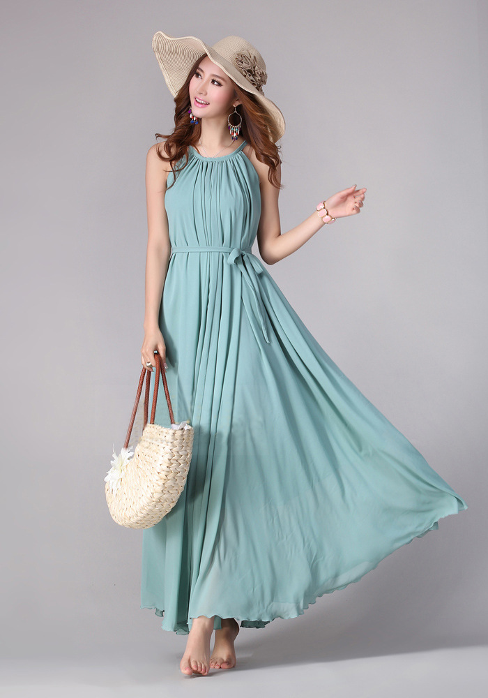 8cdce1e57602e Sundress Boho Long Maxi Dress Holiday Beach Dress Plus Size Available Small  Regular Tall
