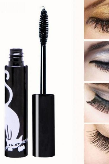 2018 New Hot 3D Thick Natural Eyelash Extension Volume Lengthening Eye Mascara Curling Black Waterproof Lash Mascara