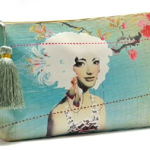 Delicate make-up bag, hand bag