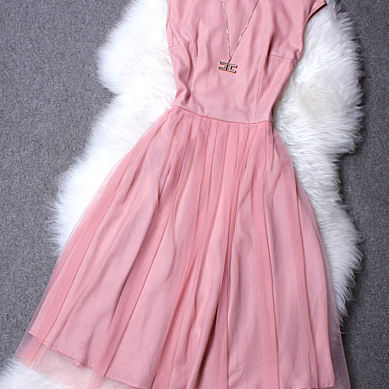 Organza chiffon dress